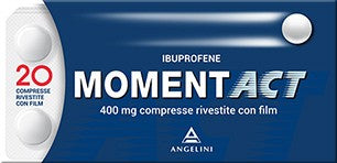 MOMENTACT 20 COMPRESSE RIVESTITE 400 MG - azfarma