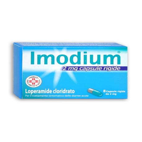 IMODIUM 8 CAPSULE 2 MG