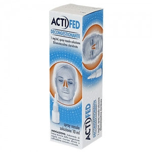 ACTIFED DECONGESTIONANTE SPRAY 10 ML - azfarma