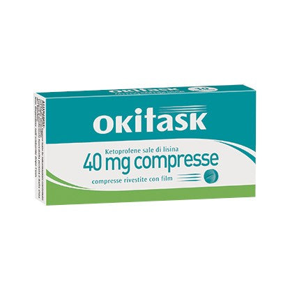 OKITASK 10 COMPRESSE RIVESTITE 40 MG