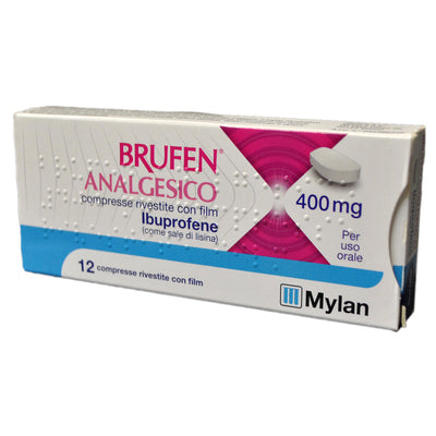 BRUFEN ANALGESICO 12 COMPRESSE RIVESTITE 400 MG - azfarma