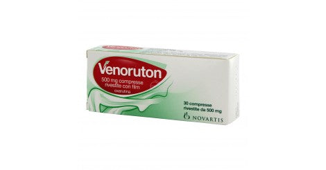 VENORUTON 30 COMPRESSE RIVESTITE 500 MG - azfarma