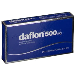 DAFLON 30COMPRESSE RIVESTITE 500MG