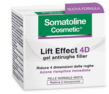 SOMATOLINE COSMETIC VISO 4D FILLER GEL 50 ML - azfarma
