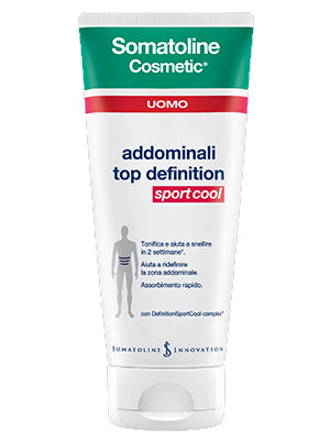 SOMATOLINE COSMETIC UOMO TOP DEFINITION SPORT 200 ML - azfarma