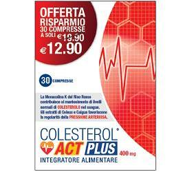COLESTEROLO ACT PLUS 30 COMPRESSE - azfarma
