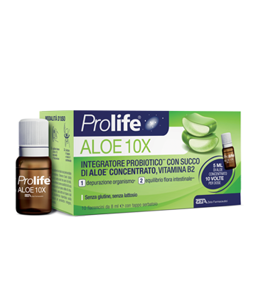 PROLIFE ALOE 10 FLACONCINI 8 ML