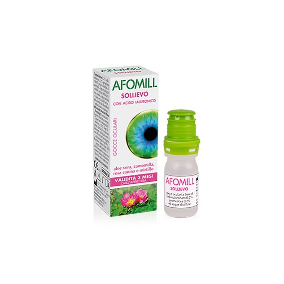 AFOMILL SOLLIEVO COLLIRIO 10 ML