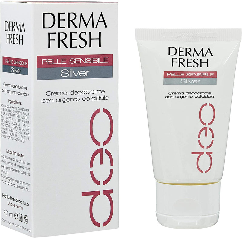 DERMAFRESH DEO PELLE SENSIBILE SILVER 40ML - azfarma