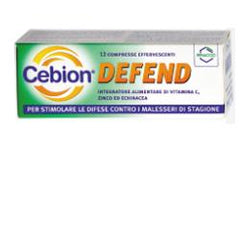 CEBION DEFEND 12 COMPRESSE EFFERVESCENTI