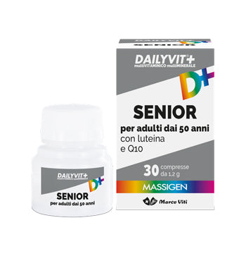 DAILYVIT SENIOR INTEGRATORE MULTIVITAMINICO 30 COMPRESSE - azfarma