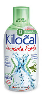 KILOCAL DRENANTE FORTE THE VERDE 500 ML - azfarma