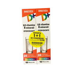 MASSIGEN DAILYVIT INTEGRATORE 20+20 COMPRESSE EFFERVESCENTI