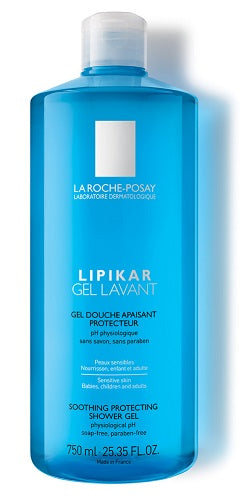 LIPIKAR GEL LAVANTE 750 ML - azfarma