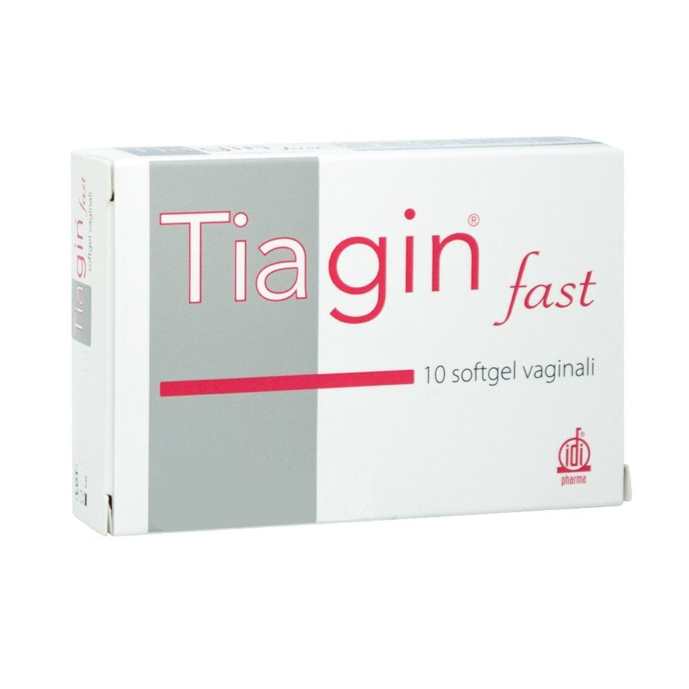 TIAGIN FAST 10 SOFTGEL VAGINALI