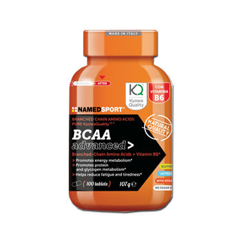 BCAA ADVANCED 100 COMPRESSE - azfarma