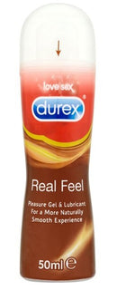 DUREX NEW GEL REAL FEEL 50 ML - azfarma