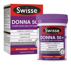 SWISSE MULTIVITAMINICO DONNA 50+ 30COMPRESSE