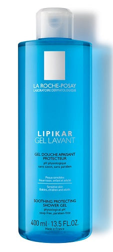 LIPIKAR GEL LAVANTE 400 ML - azfarma