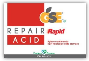 GSE REPAIR RAPID ACID 36 COMPRESSE - azfarma