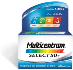 MULTICENTRUM SELECT 50+ 30COMPRESSE
