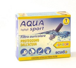 EARPLUG TAPPI AURICOLARI SCUDO AQUASPORT JUNIOR 2 PEZZI - azfarma
