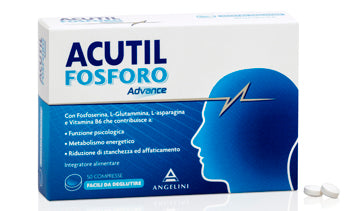 ACUTIL FOSFORO ADVANCE 50 COMPRESSE - azfarma
