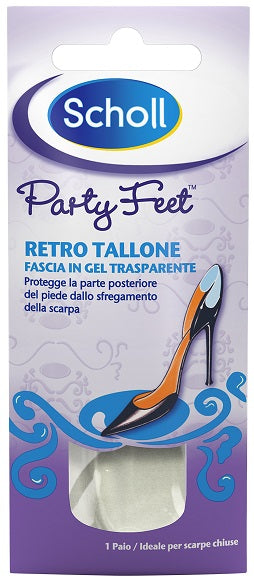 SCHOLL PARTY FEET GEL ACTIV RETRO TALLONE - azfarma
