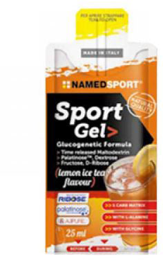 SPORT GEL LEMON ICE TEA 25 ML - azfarma