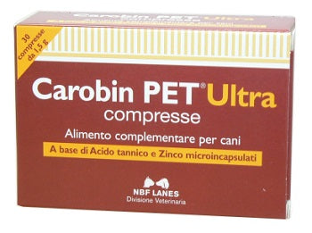 CAROBIN PET ULTRA 30 COMPRESSE - azfarma