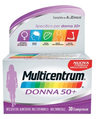 MULTICENTRUM DONNA 50+ 30COMPRESSE