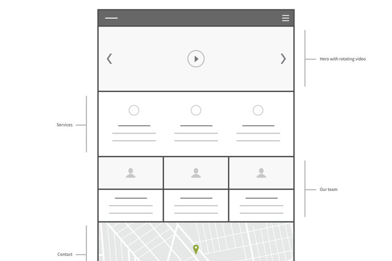 Square Wireframe Kit