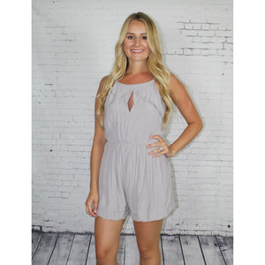 Scalloped Romper