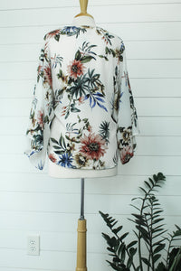 Tropical Wrap Top