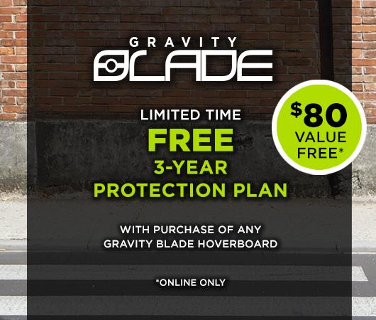Gravity Blade Hoverboard & Scooter