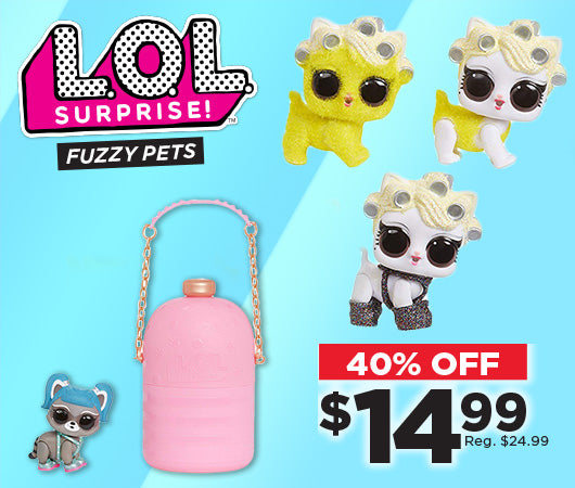 Save 40% off LOL Fuzzy Pets