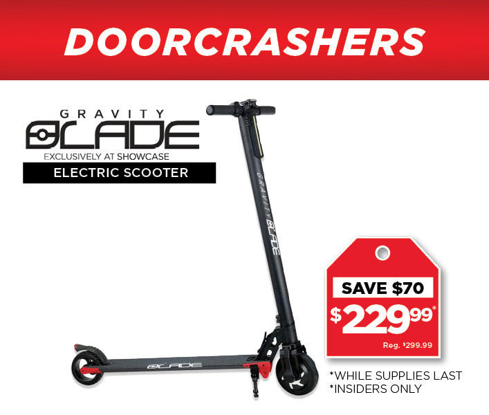 Gravity Blade Electric Scooter