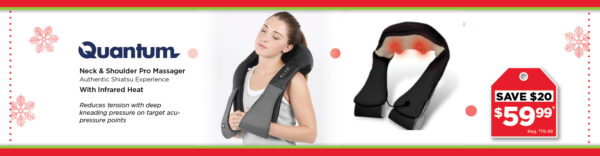 Neck & Shoulder Massager