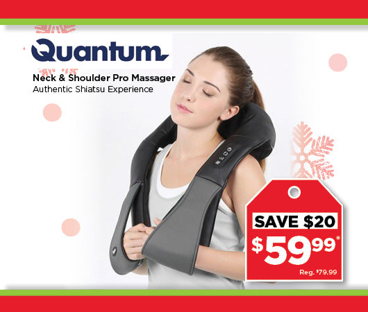 Quantum Neck & Shoulder Massager