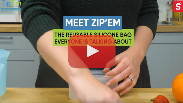 The Resuable Silicone Bag EVERYONE is talking about.