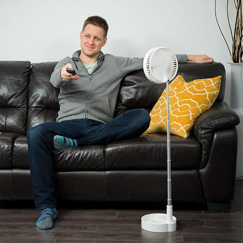 Cool Chill Telescopic Rotating Fan | Extends to 40