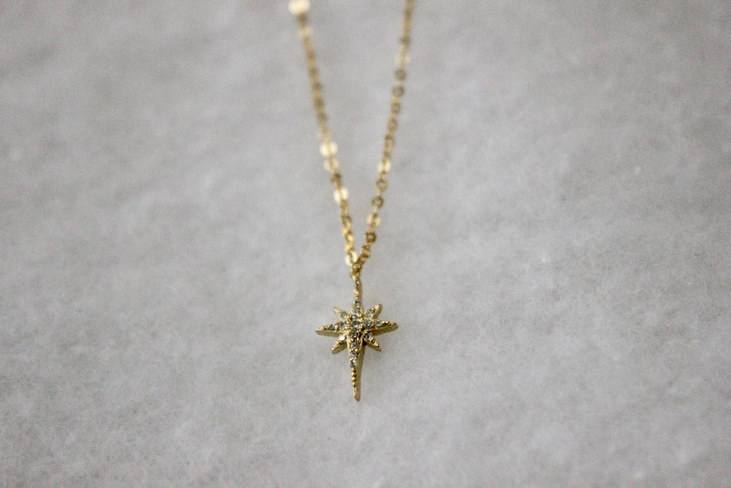 Mini Starburst Point Necklace