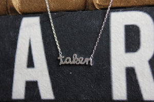 Taken Necklace