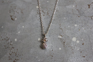 Tiny Pineapple Necklace