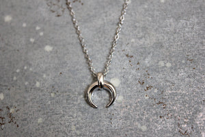Tiny Horn Necklace