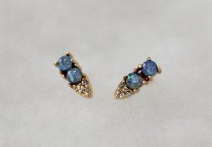 Opal Point Studs