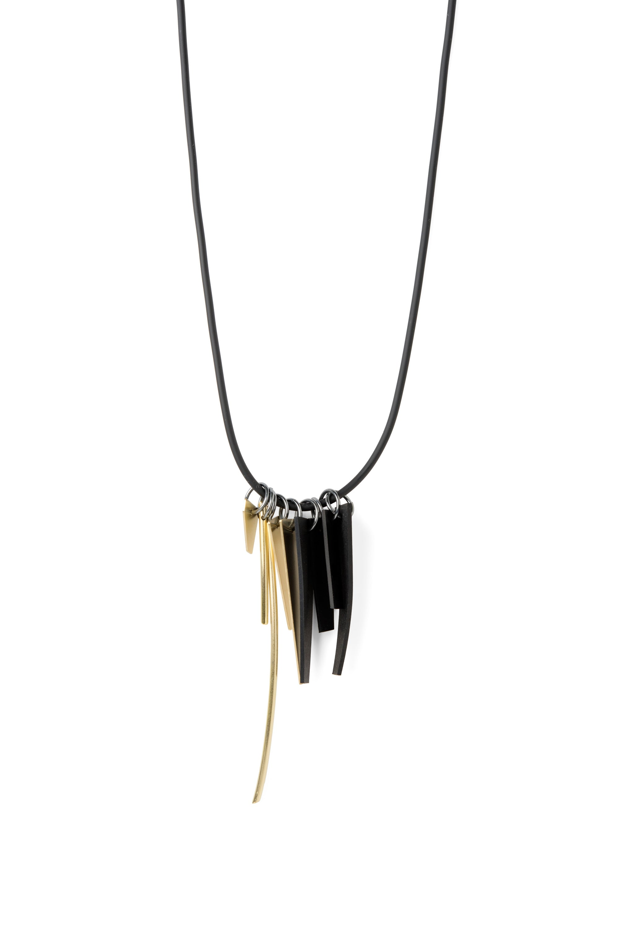 OUTLINE GOLD MIX NECKLACE