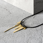 OUTLINE GOLD NECKLACE