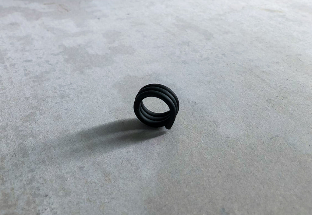 RUBBER TRIPLE THIN RING