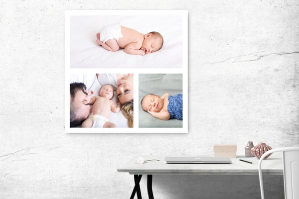 Wedding and Family Collage - Custom Canvas Prints - afterimage.canvas